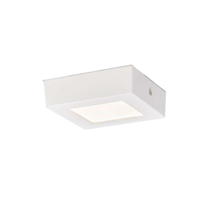 Ceiling-Plate-6W-LED-Square-White