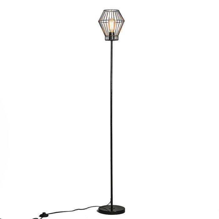 Floor-Lamp-Frame-E-Black