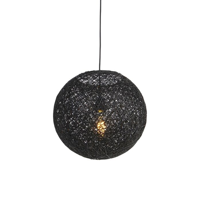 Pendant-Lamp-black-35-cm---Corda