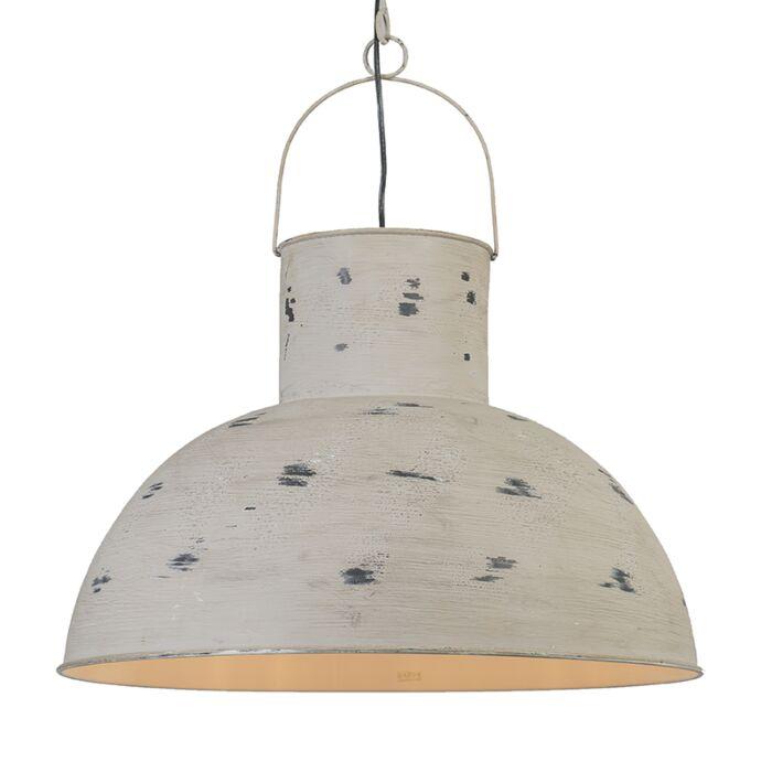 Pendant-Lamp-Rust-XL-Weathered-Grey