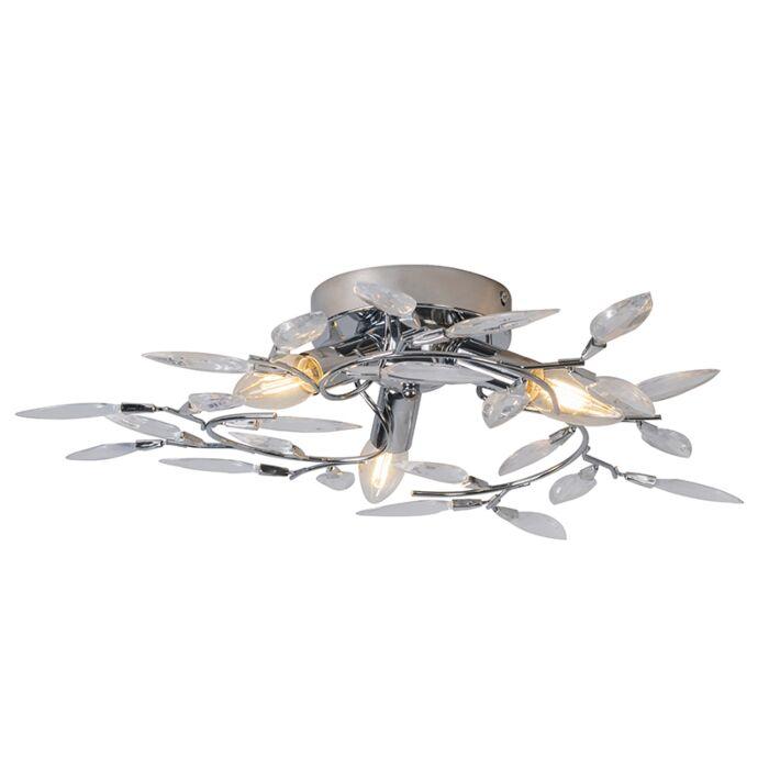 Ceiling-Lamp-Leaves-2-Chrome