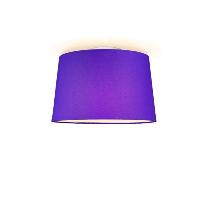 Ceiling-Lamp-Ton-Round-40-Purple