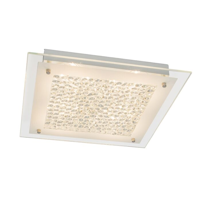Ceiling-Lamp-Cloudy-15W-LED-Square-White