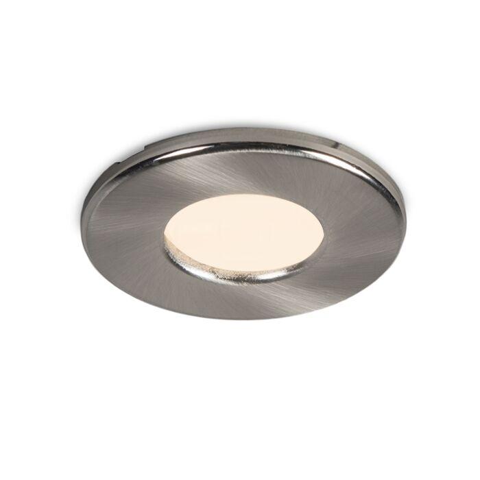 Modern-round-recessed-spot-white-IP44---Hole