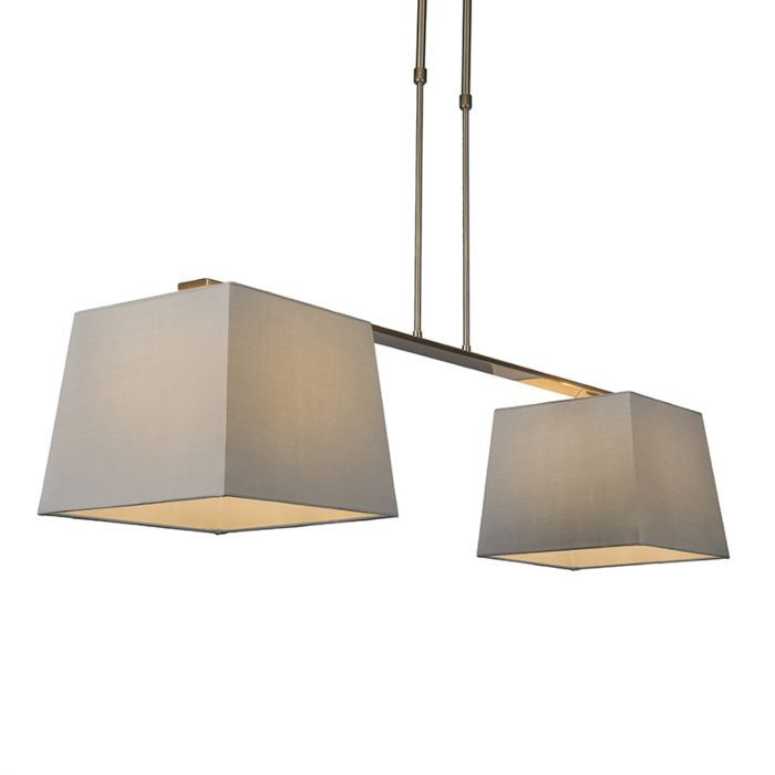 Pendant-Lamp-Combi-Delux-2-with-Square-Shades-30cm-Grey