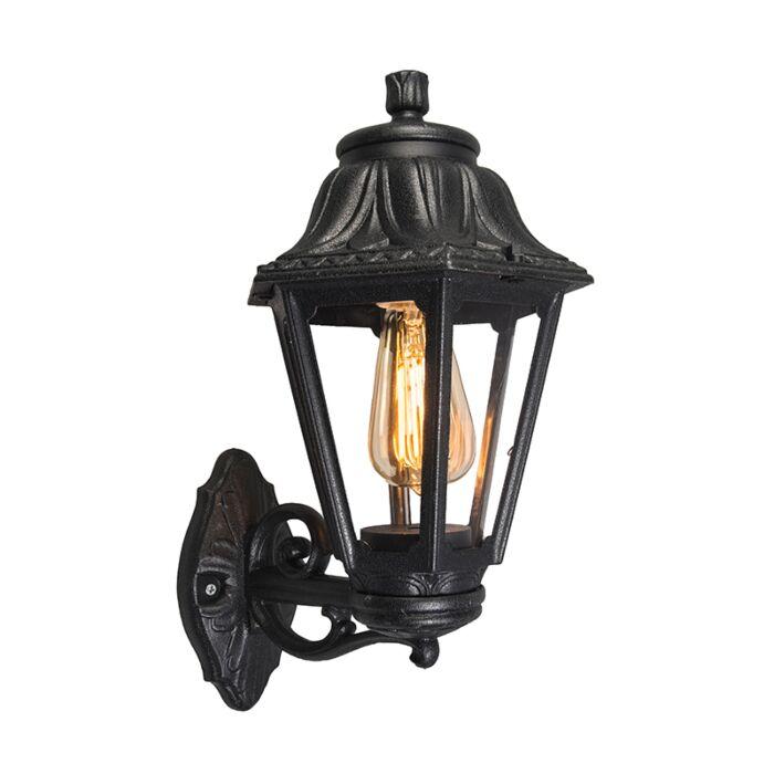 Country-Wall-Lantern-Black-IP44---Anna