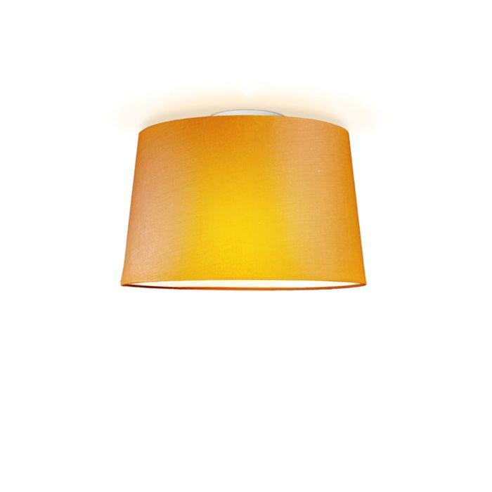 Ceiling-Lamp-Ton-Round-40-Orange