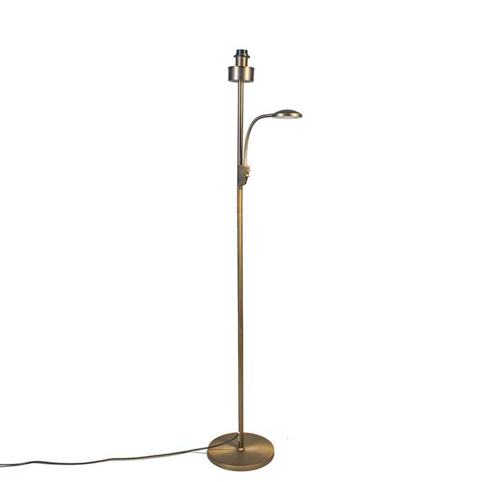 Floor-Lamp-Trento-Combi-Bronze-without-Shade