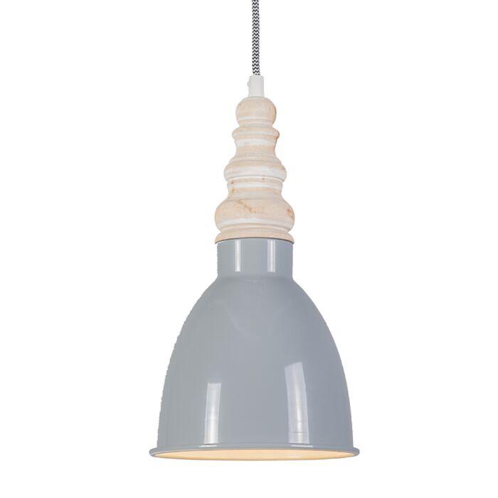 Pendant-Lamp-Oak-Grey