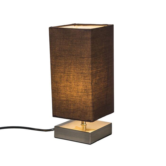 Table-Lamp-Milo-Square-Brown