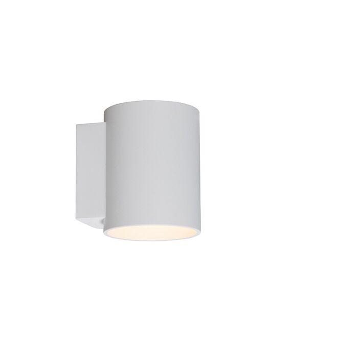 Wall-lamp-round-white---Sola