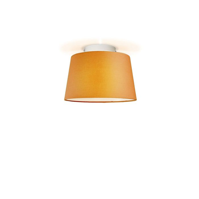Ceiling-Lamp-Ton-Round-30-Orange