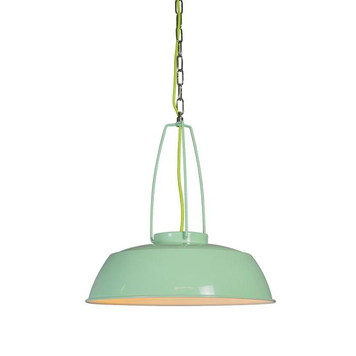 Pendant-Lamp-Usine-Green