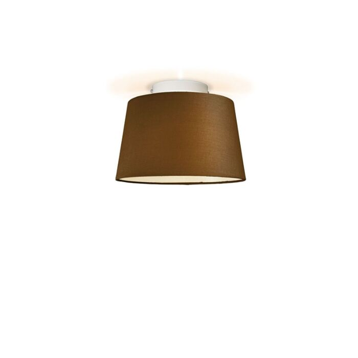 Ceiling-Lamp-Ton-Round-30-Brown