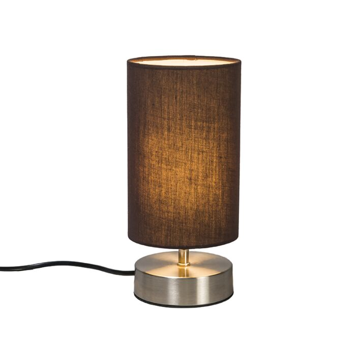 Table-Lamp-Milo-2-Round-Brown