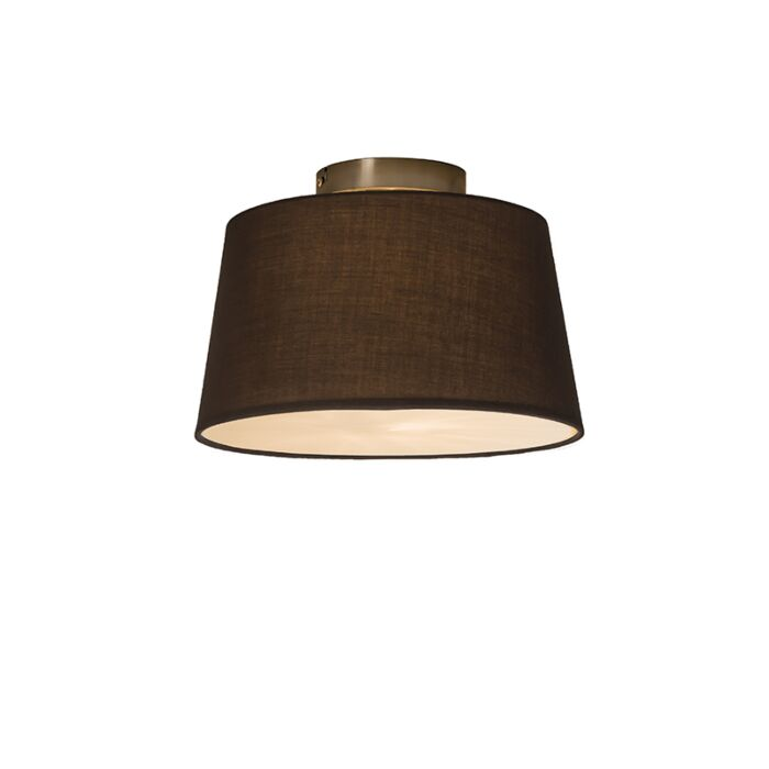 Ceiling-Lamp-Combi-30cm-Brown-with-Diffuser