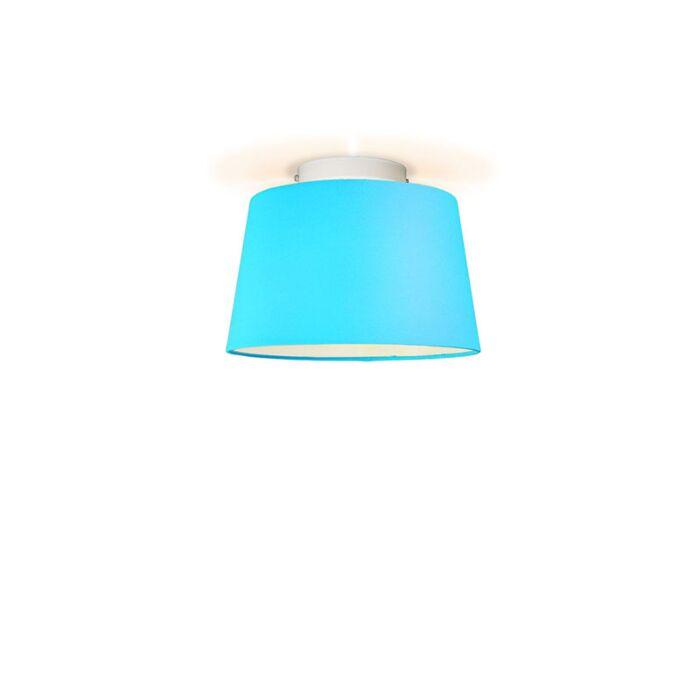 Ceiling-Lamp-Ton-Round-30-Light-Blue