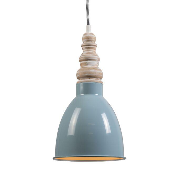 Pendant-Lamp-Oak-Light-Blue