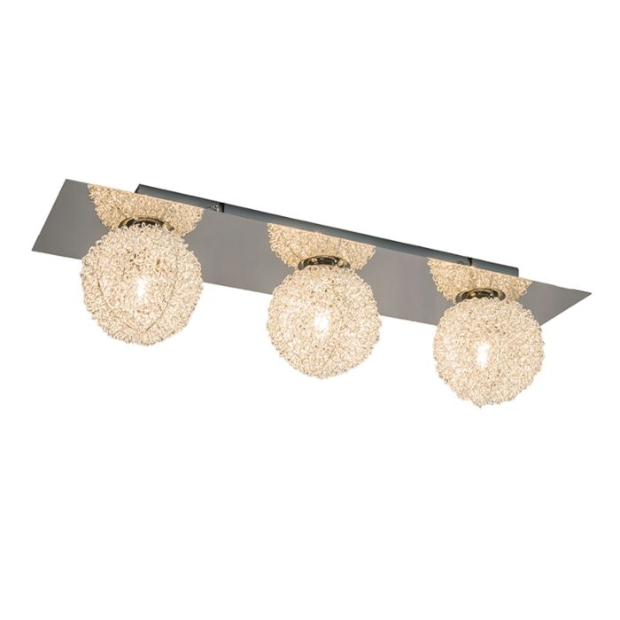 Wall/Ceiling-Lamp-Fuzzle-3-Chrome