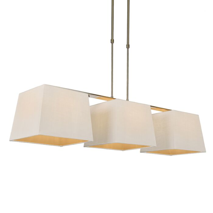 Pendant-Lamp-Combi-Delux-3-with-Square-Shades-30cm-White