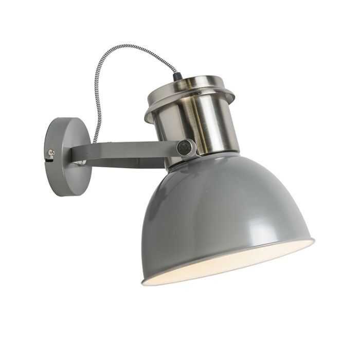 Industrial-wall-lamp-gray---Industrial