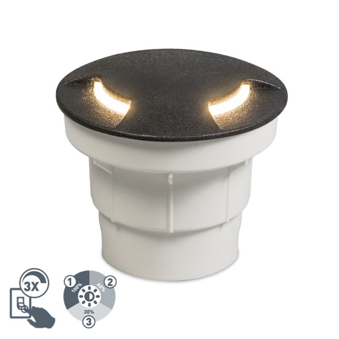 Modern-outdoor-ground-spot-black-incl.-LED-IP67---Ceci-2