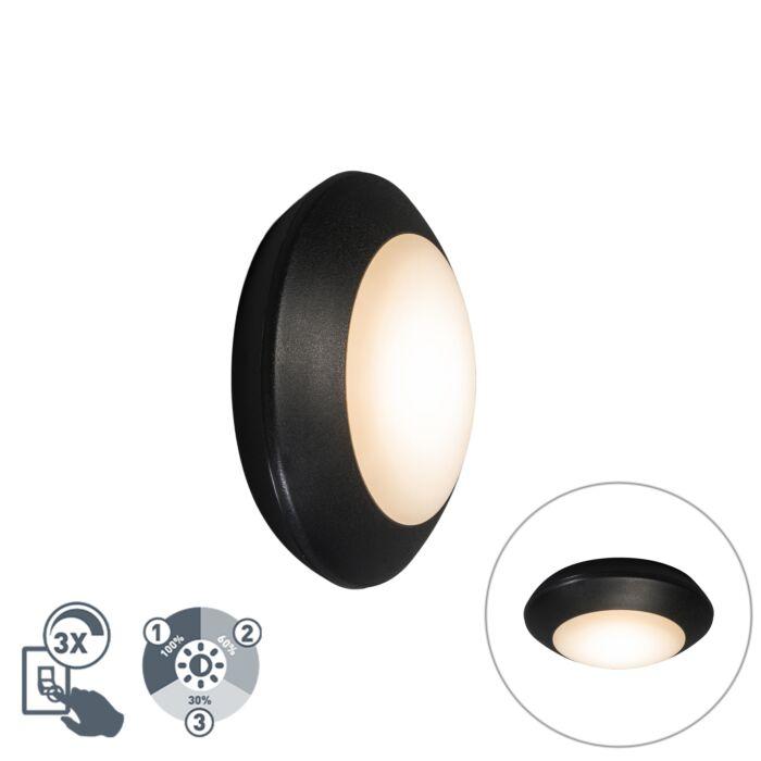 Modern-ceiling-lamp-black-IP65---Bertina