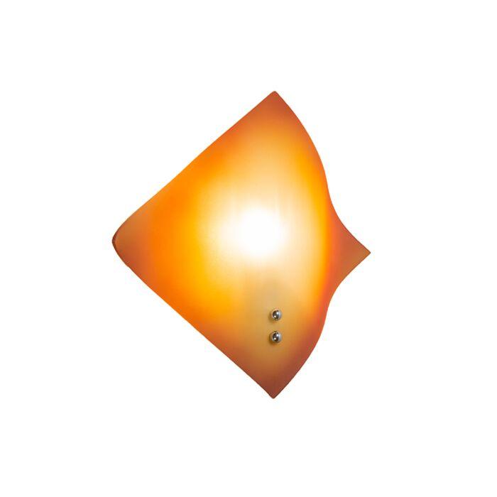 Wall-Lamp-Wave-Orange