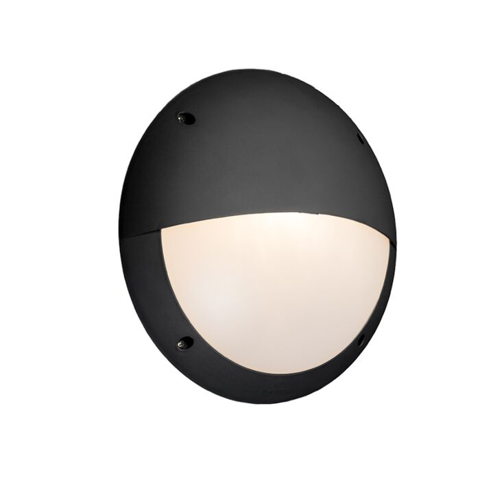 Wall-Lamp-Black-IP65---Lucia