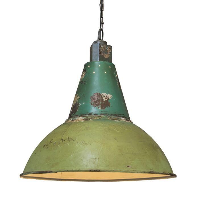 Pendant-Lamp-Oxidise-Antique-Green