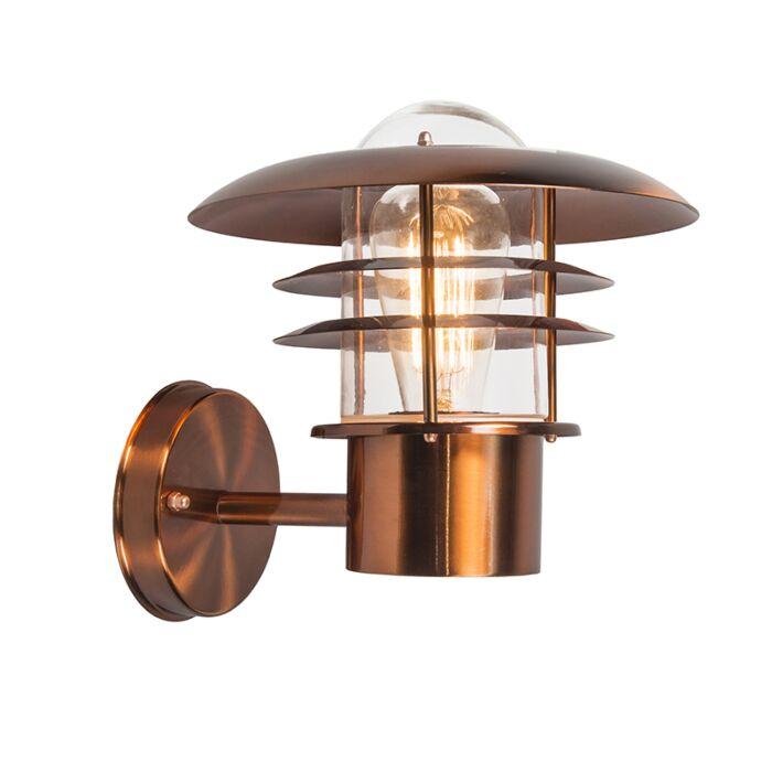 Vintage-outdoor-wall-lamp-copper-IP44---Prato