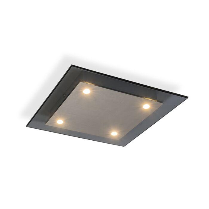 Ceiling-Lamp-Credo-4-Square-Smoke