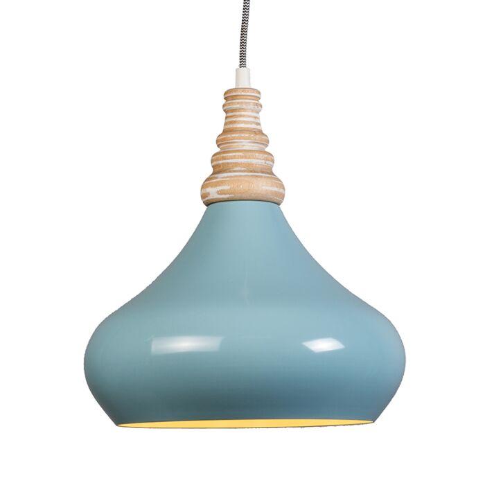 Pendant-Lamp-Maple-Light-Blue