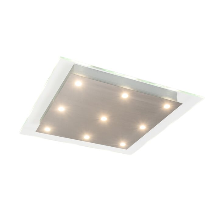 Ceiling-Lamp-Credo-9-Square-Clear