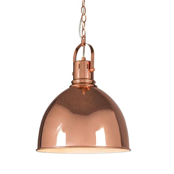 Pendant-Lamp-Goblet-Copper