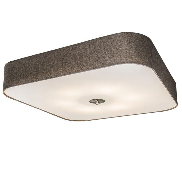 Ceiling-Lamp-Drum-Deluxe-70-Square-Jute-Taupe
