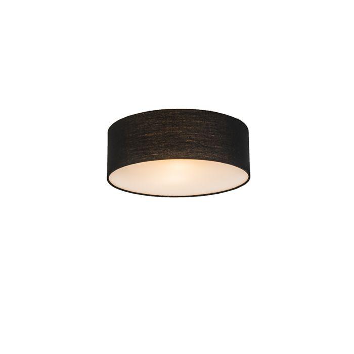 Ceiling-Lamp-Drum-Basic-30-Black