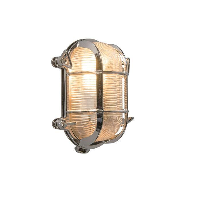Retro-wall-lamp-chrome-18-cm-IP44---Nautica-2-oval