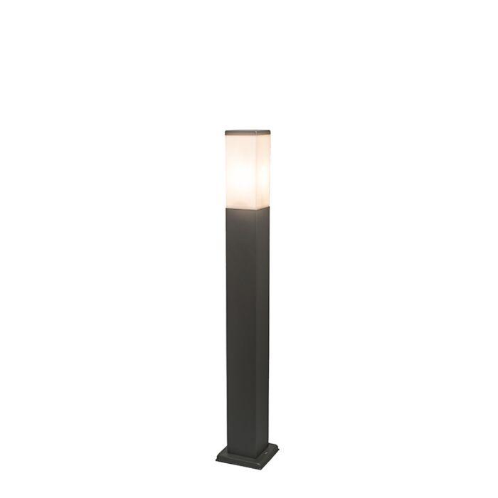 Modern-outdoor-lamp-post-dark-gray-80-cm-IP44---Malios