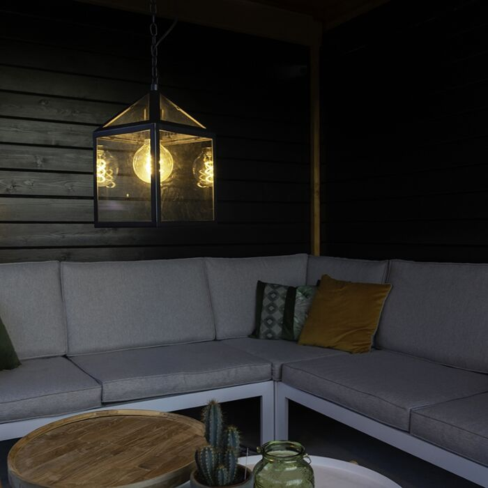 Industrial-outdoor-hanging-lamp-black---Amsterdam