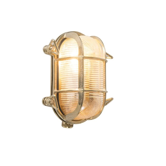 Retro-wall-lamp-gold-18-cm-IP44---Nautica-2-oval
