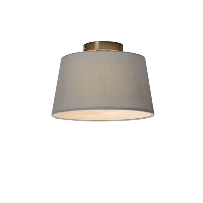 Ceiling-Lamp-Combi-30cm-Grey-with-Diffuser