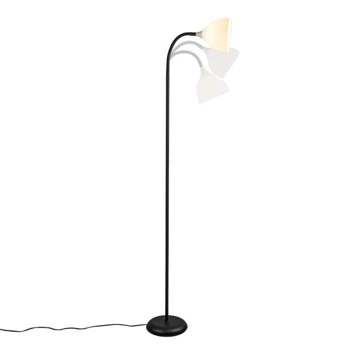 Floor-Lamp-Hose-Black