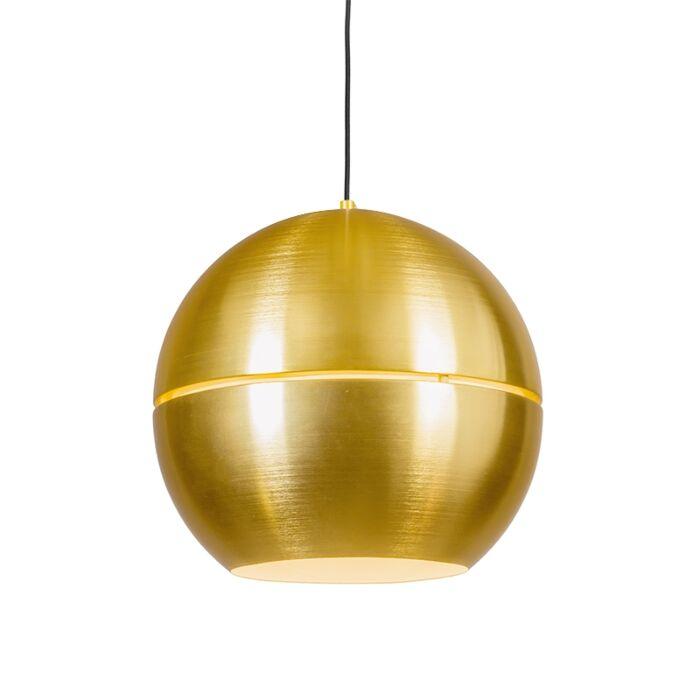 Retro-Pendant-Lamp-40cm-Gold---Slice