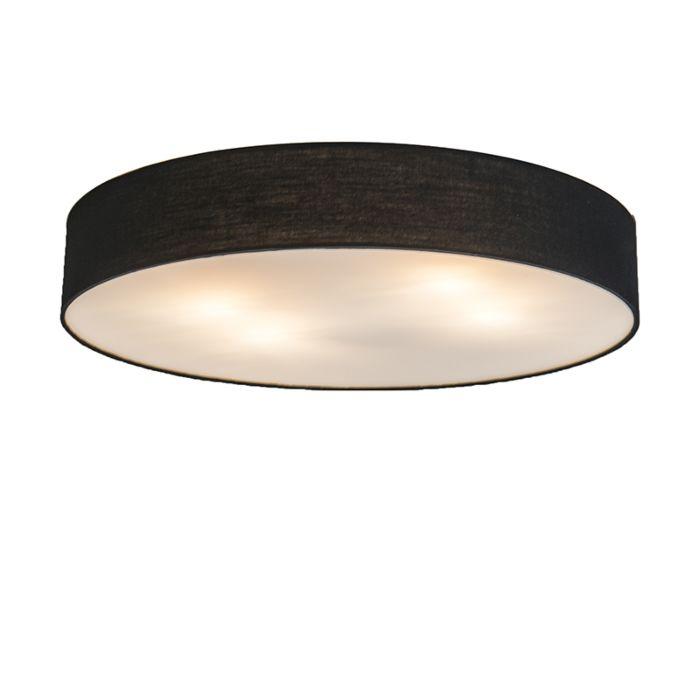 Ceiling-Lamp-Drum-Basic-60-Black