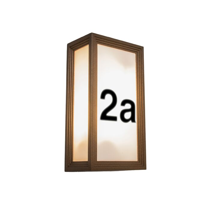 Wall-Lamp-Tide-2V-Rust-with-House-Number-Stickers