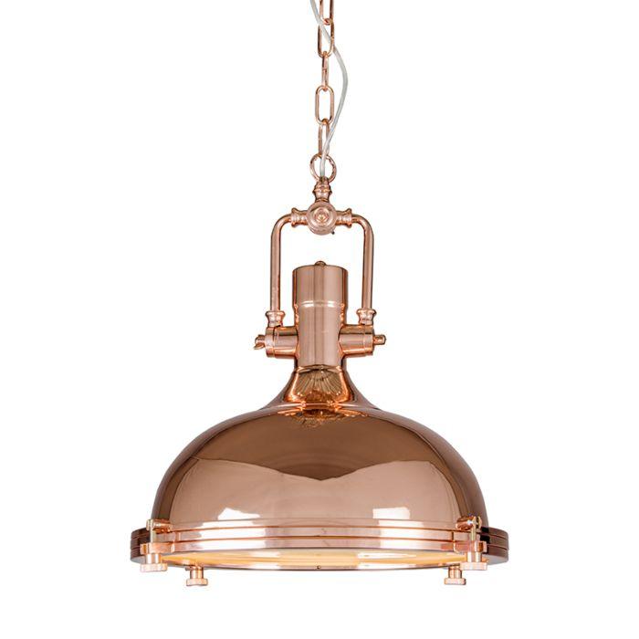 Pendant-Lamp-Solid-Copper