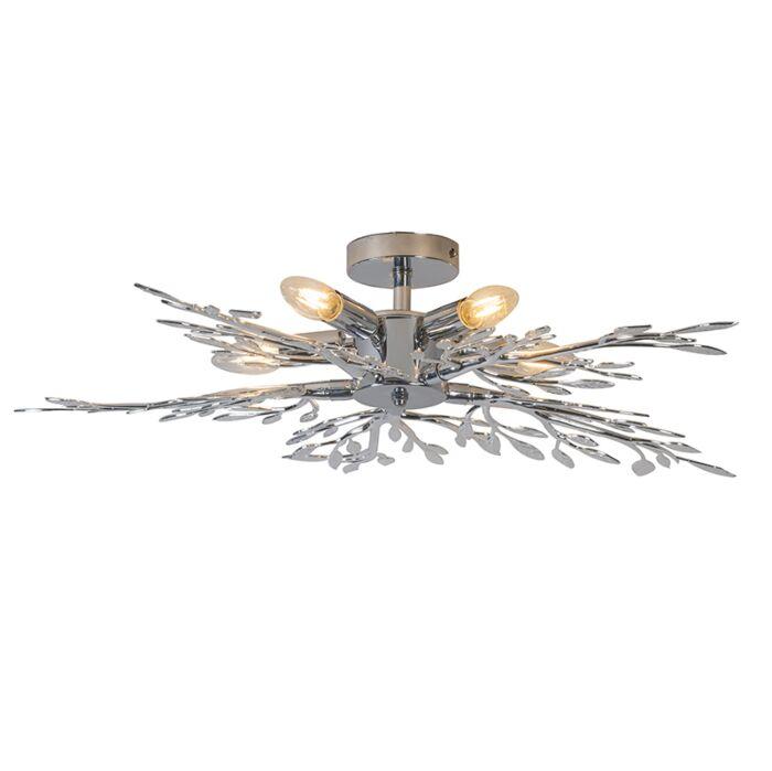 Ceiling-Lamp-Leaves-1-Chrome