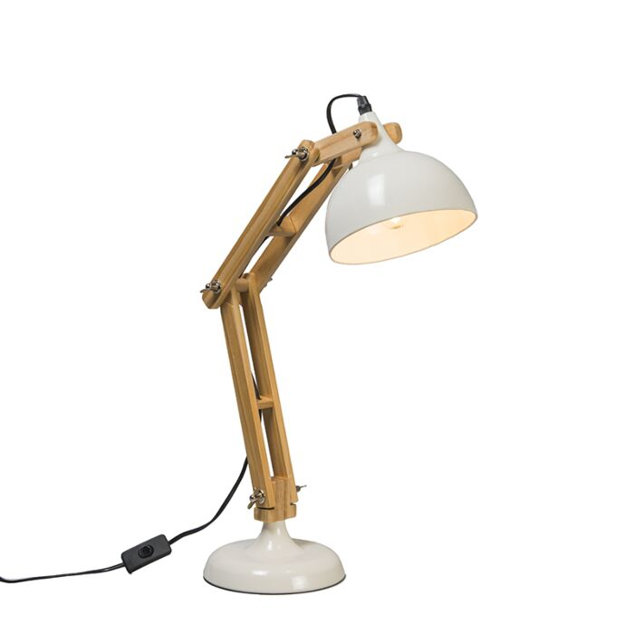 Table-Lamp-Office-White