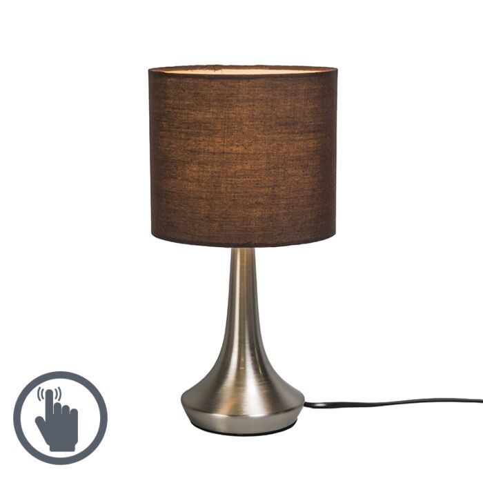 Table-Lamp-Milo-1-Round-Brown